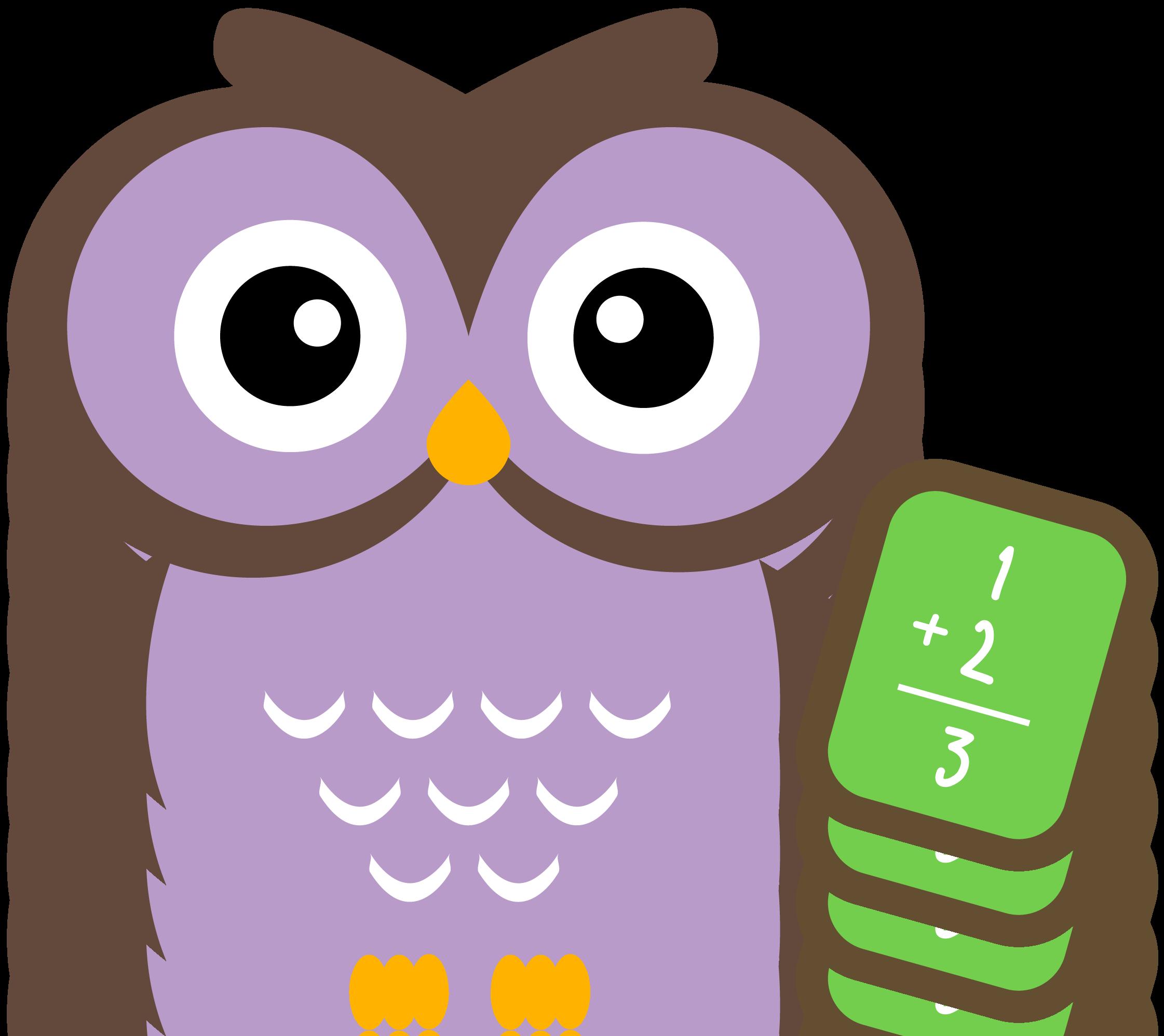 cute owl clip art - 500×431
