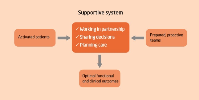 model for shared decision-making from the longer form paper