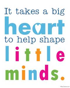 Child Care Quotes Pleasing Big_Heart