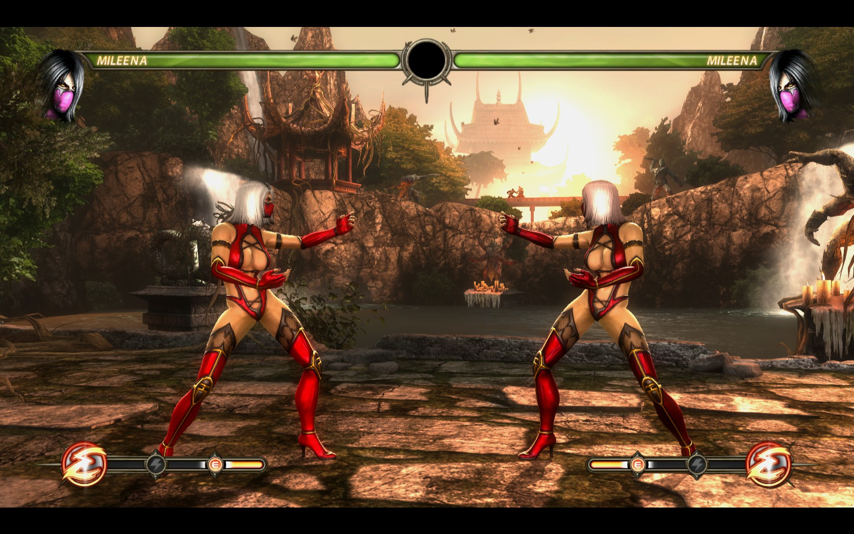 Red&White Mileena • Mortal Kombat Secrets